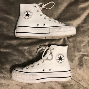 Chuck Taylor All Star Platform Leather High Top